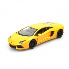 Lamborghini LP700-4 1:24 4-CH R/C Car w/ LED Lights - Yellow