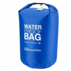 Naturehike Outdoor Waterproof Bag w/ Belt / Transparent Window - Blue (60L)