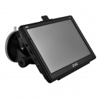 "eDaoZhun HD 7"" Car GPS Navigator w/ FM / DDR256M / 8GB  /CE 6.0 Brazil + Argentina Map - Black"
