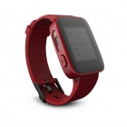 "Weloop Tommy 1.26"" LCD Smartwatch w/ Bluetooth 4.0 / Support Message Display - Red"