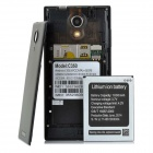 "C350 Quad-core Android 4.2.2 WCDMA Bar Phone w / 5.0"" IPS, Wi-Fi et GPS - Noir"