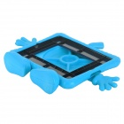 3D Apple Boy Pattern Protective EVA Back Case for IPAD 2 / 3 / 4 - Blue