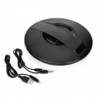 SDY-021 Bluetooth V3.0 Speaker w/ Mic. / USB 2.0 / Micro USB / FM / TF / Alarm Clock - Black