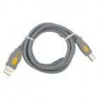 JiaHui Pinter USB 2.0 to Square Connector Data Cable - Grey (144cm)