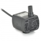 AT-1020 ABS 3W upotettava vesipumppu - musta (dc 5,5 ~ 12V)