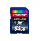 Transcend SDXC Memory Card - Deep Blue (64GB / Class 10)