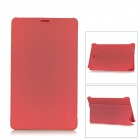 Flip Open PU + PC Case w/ Stand for 8.4'' Samsung Galaxy Tab S T700 - Red