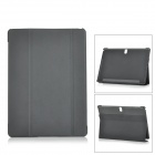 Flip Open PU + PC Case w/ Stand / Auto-Sleep for 10.5'' Samsung Galaxy TabS T800 - Black