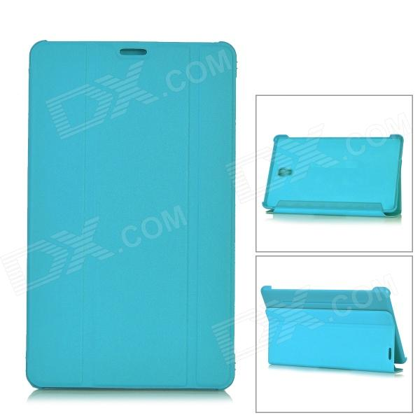 все цены на Flip Open PU + PC Case w/ Stand for 8.4'' Samsung Galaxy Tab S T700 - Light Blue