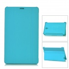 Flip Open PU + PC Case w/ Stand for 8.4'' Samsung Galaxy Tab S T700 - Light Blue