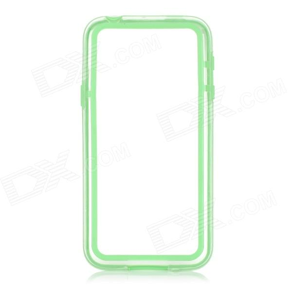Protective TPU + PC Bumper Frame for Samsung Galaxy S5 Mini - Green fashionable protective pc bumper frame case w bowknot for samsung galaxy s5 green white
