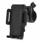 Adjustable 360' Rotary ABS Bike Mobile Phone Mount Holder - Black