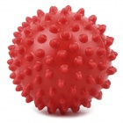 1006118 Fun Massage Ball Toy w/ Bump Surface for Baby / Children - Red