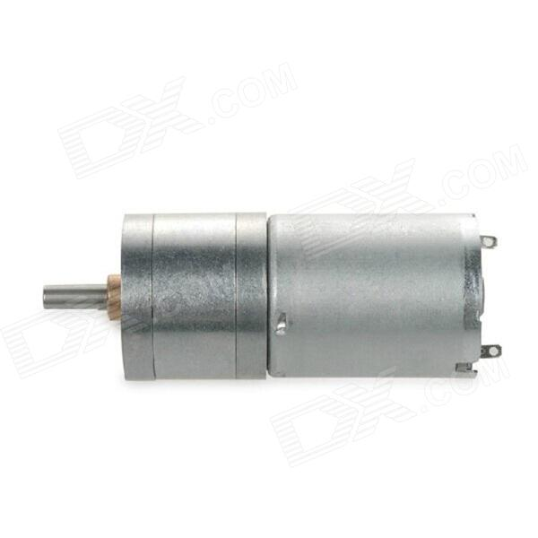ChiHai 6V DC Geard Motor High Torque Gear Reducer Motor - Silver 3v 6v dc gear motor with cable large torque motor 2pcs