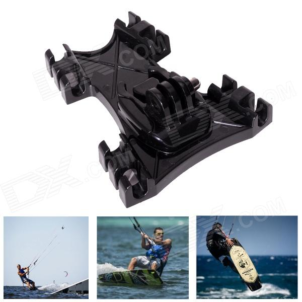 Fat Cat M-KLP Kiteboarding Surfing Kite Line Mount Holder for GoPro Hero 3+ / 3 / 2 / SJ4000 - Black