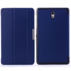 Mr.northjoe PU Leather Flip Open Case w/ Stand for Samsung Galaxy Tab S 8.4 T700 - Blue