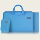 "Cartinoe Laptop Handbag / Tote Bag + Coin Purse + Mousepad for Apple MacBook Pro 15.4"" - Blue"