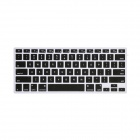 "GeekRover Keyboard Skin for MacBook Pro 13"" 15"", iMac and MacBook Air 13"" - Black"