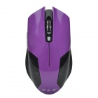 Ziyouyan M97 2.4GHz Wireless 10m 1000-1500DPI Optical Mouse - Purple + Black (2 x AAA)