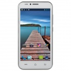 "KCD-S3 MTK6572 Dual-Core Android 4.4.2 WCDMA Bar Phone w/ 5.0"" IPS, FM, GPS, Wi-Fi, 4GB ROM - White"
