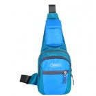 HONGYS YS-2055 Outdoor Hiking Casual Nylon Shoulder Messenger Bag - Blue