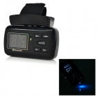 "1.35"" LCD Bluetooth V2.0 Car Steering Wheel MP3 Player w/ Mini USB / TF - Black"