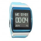 "Hi Watch GSM Watch Phone w/ 1.55"" Screen, Quad-band, Bluetooth V3.0 and Radio - Blue + White"