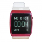 "Hi Watch GSM Watch Phone w/ 1.55"" Screen, Quad-Band, Bluetooth V3.0 and Radio - Deep Pink + White"