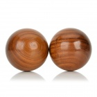 Bjq-002 50mm Palo Santo main boules de massage - Brown