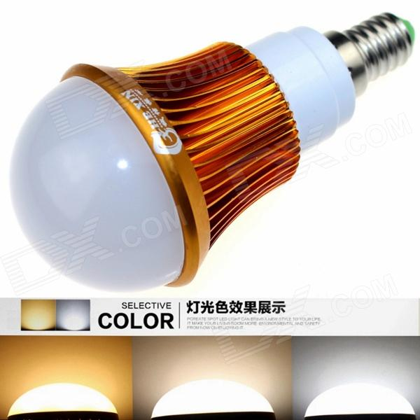 CXHEXIN G14A-3+3 E14 6W 360lm 12-5630 LED Adjustable Color Temperature Lamp Bulb (AC 85~265V) cxhexin g9cx24 5630 g9 5w 3000k 400lm 24 5630 smd led warm white light bulb white ac 85 265v