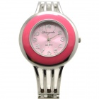 Fashionable Analog Quartz Bracelet Watch for Women - Pink + Silver (1 x LR626)