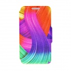 Buy Kinston Color Ribbon Pattern PU Leather Flip Open Case Stand 4.5'' Google LG Nexus 4 E960