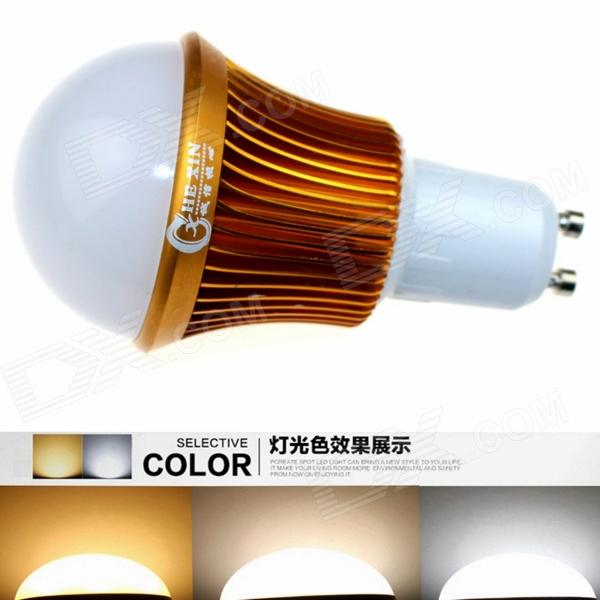CXHEXIN G10A-3+3 GU10 6W 360lm 12-5630 LED Adjustable Color Temperature Lamp Bulb (AC 85~265V) cxhexin g9cx24 5630 g9 5w 3000k 400lm 24 5630 smd led warm white light bulb white ac 85 265v