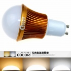 CXHEXIN G10A-3+3 GU10 6W 360lm 12-5630 LED Adjustable Color Temperature Lamp Bulb (AC 85~265V)