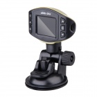 "1.5"" TFT 5MP CMOS Full HD 1080P Car DVR Camcorder w/ IR Night Vision - Golden + Black"
