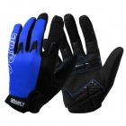 Spakct SGTOP2 Cycling Full-Finger Gloves - Blue (1 Pair / Size XL)