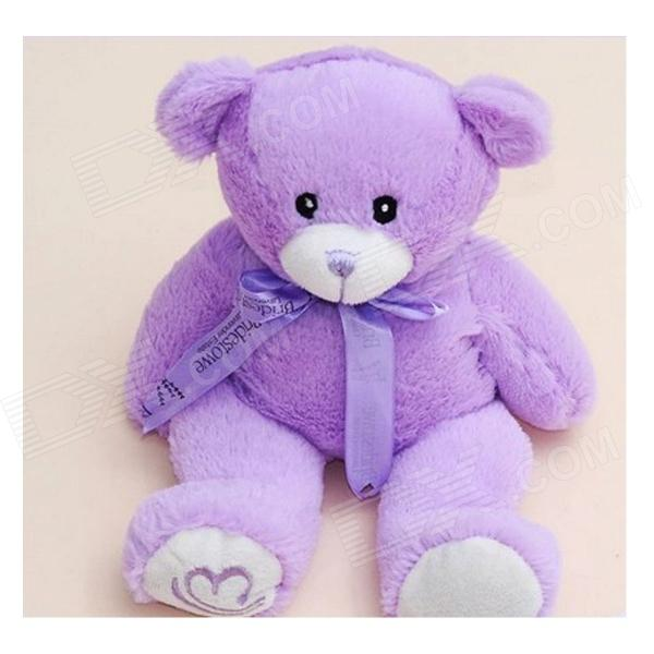 SP-071 Cute Lavender Scent Toy Bear Doll - Purple (30cm) aroma premium quality incense cone essential oil purple lavender scent