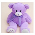 SP-071 Cute Lavender Scent Toy Bear Doll - Purple (30cm)