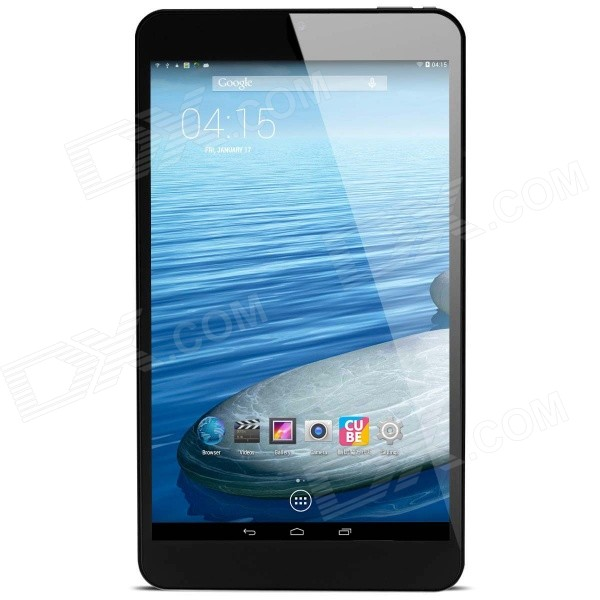 Cube U27GT Android 4.2 Quad-Core Tablet PC w/ 8.0 Screen, ROM 8GB, GPS, Wi-Fi and Bluetooth - White