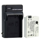 DSTE LP-E8 2100mAh Battery + DC99 Charger for Canon EOS 650D 550D 600D Camera