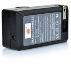 7.4V Li-ion Full-decode Battery + US Plug Charger for PENTAX - Black
