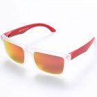 OREKA Fashionable TR90 Frame Resin Lens UV400 Protection Polarized Sunglasses - Transparent