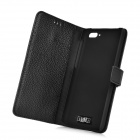 IKKI Protective Flip Open Leather Case w/ Stand + Card Slot for Amazon Fire Phone - Black