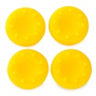 FT-XP01 Replacement Silicone Anti-Slip Joystick Caps for PS4 / XBOX 360 / XBOX One - Yellow