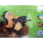 Nature Observation Monocular with Powered Omnidirectional Sound Amplifier Dish