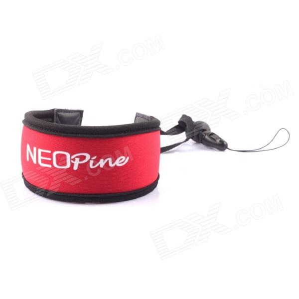 NEOpine Wrist Strap Floaty Foam Dive Strap for Gopro Hero 3+ / 3 / 2+ Camera - Red + Black justone j049 professional underwater dive filter converter for gopro hero 4 3 black red