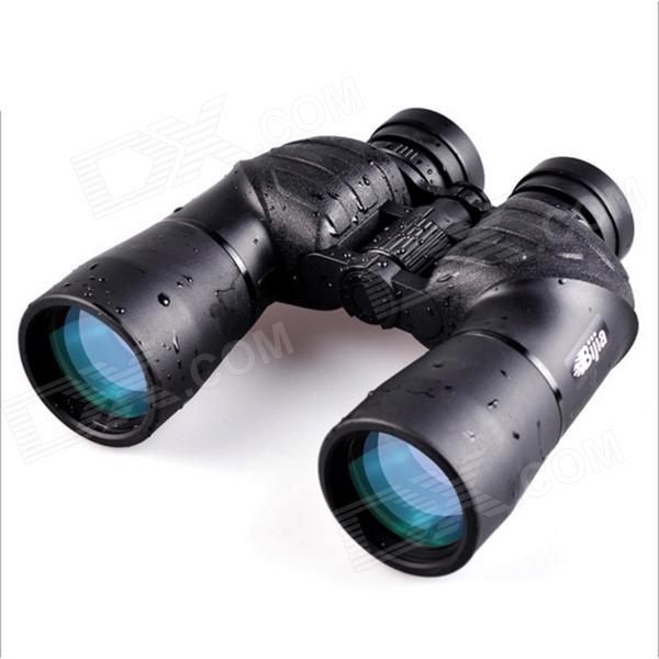 BIJIA 8x56 Nitrogen Waterproof High-Power HD Night Vision Binoculars Telescope - Black