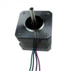Heacent YB42-33 3D Printer DIY Accessories Stepping Motor - Black + Silver