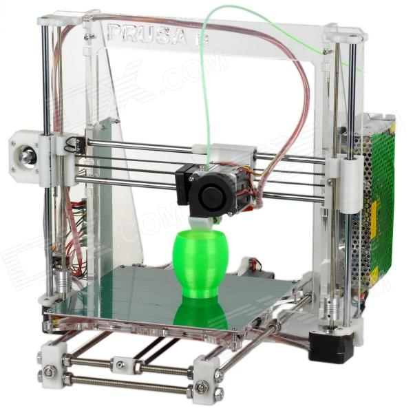 Heacent Reprap Prusa i3 3D Printer DIY Full Assembly Kit - White (0.4mm Nozzle / 1.75mm Filament)