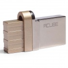 CUBE OTG PRO USB2.0 / Micro USB Double Interface Flash Drives - Gold (32GB)